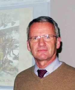 Der Historiker Prof. Dr. Holger Thomas Gräf berichtete beim Brücke-Stammtisch über die Rolle der Hessen im amerikanischen Unabhängigkeitskrieg