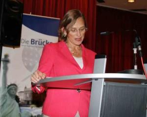 Dietlind Grabe-Bolz, Oberbürgermeisterin der Universitätsstadt Gießen bei ihrer Rede