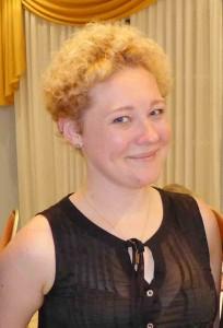 Carina Thomys zurück in Gießen beim BRÜCKE-Stammtischvortrag